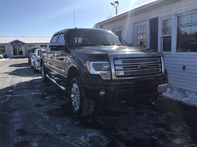 Pre-Owned 2013 Ford F-150 4WD SuperCrew 157 Platinum
