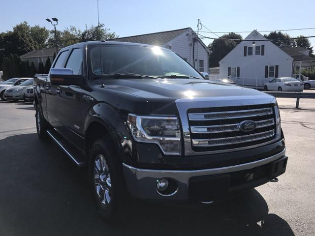Pre-Owned 2013 Ford F-150 4WD SuperCrew 145 Lariat
