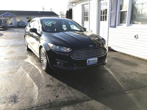 Pre-Owned 2013 Ford Fusion 4dr Sdn Titanium FWD