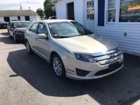 Pre-Owned 2010 Ford Fusion 4dr Sdn SEL AWD